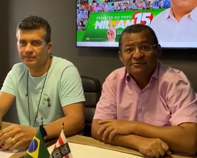WhatsApp Image 2020 11 22 at 14.45.42 1 - Carlão anuncia apoio a Nilvan Ferreira: 'um novo momento'