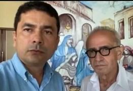 Mais preparado para cuidar de João Pessoa: Bosquinho anuncia apoio a Cícero Lucena no 2º turno