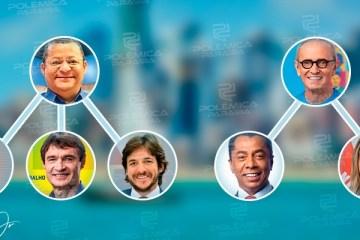 Apoiam quem?: segundo turno na capital coloca em cena Cássio Cunha Lima e outras figuras políticas de Campina Grande