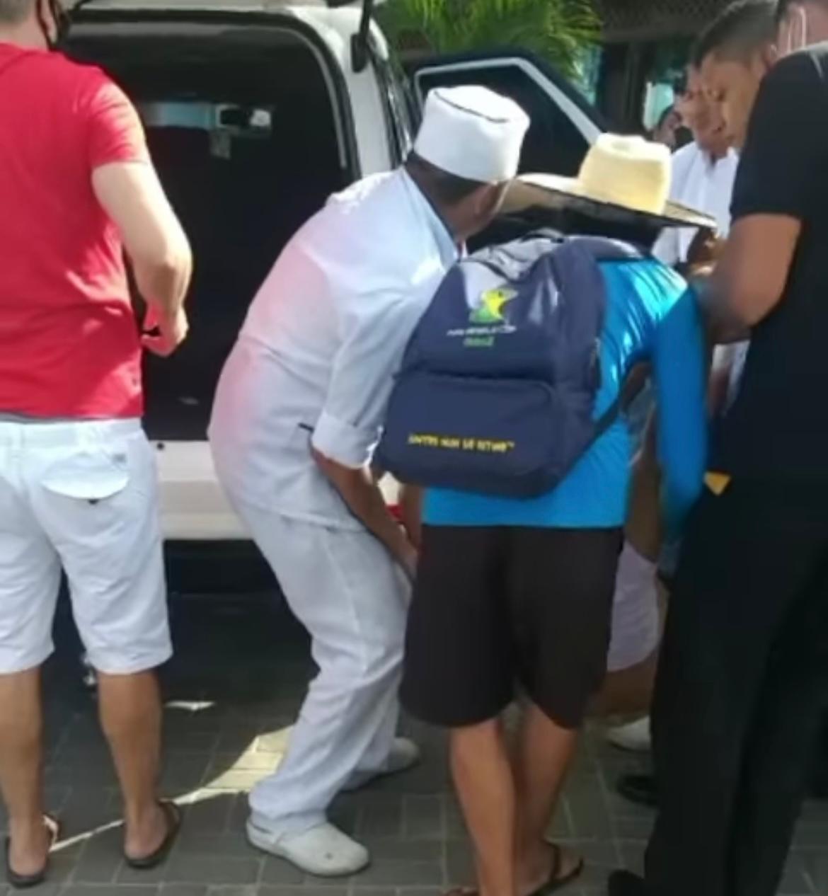 WhatsApp Image 2020 11 27 at 18.35.08 1 - ESTADO GRAVE: piloto de avião é baleado dentro de restaurante em João Pessoa; VEJA VÍDEO