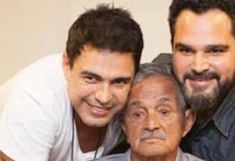 Pai de Zezé di Camargo e Luciano tem sangramento no intestino e precisa passar por cirurgia, em Goiânia