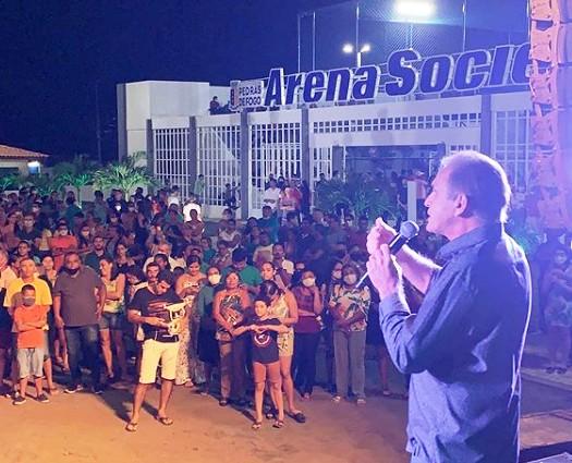 adfaf - Prefeito de Pedras de Fogo inaugura primeira Arena Society pública do Nordeste idealizada por Lucas Romão - VEJA VÍDEO