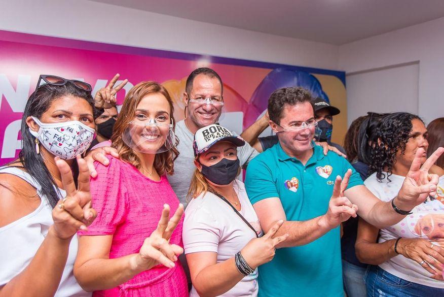ana wellington veneziano - Ana Cláudia vota, cita bela campanha e confiança no segundo turno