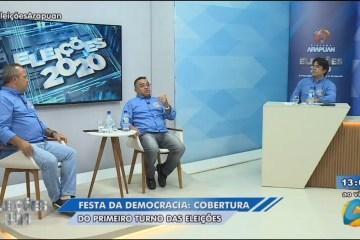 ao vivo  - SEGUNDO TURNO! Acompanhe ao vivo a apuração da TV Arapuan em João Pessoa