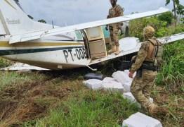 452 KG DE DROGAS: PF prede traficantes que jogaram avião na direção de policiais no Pará; VEJA VÍDEO