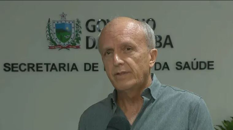 geraldo - Secretário de Saúde da Paraíba acredita que vacina deve estar disponível entre fevereiro e março de 2021