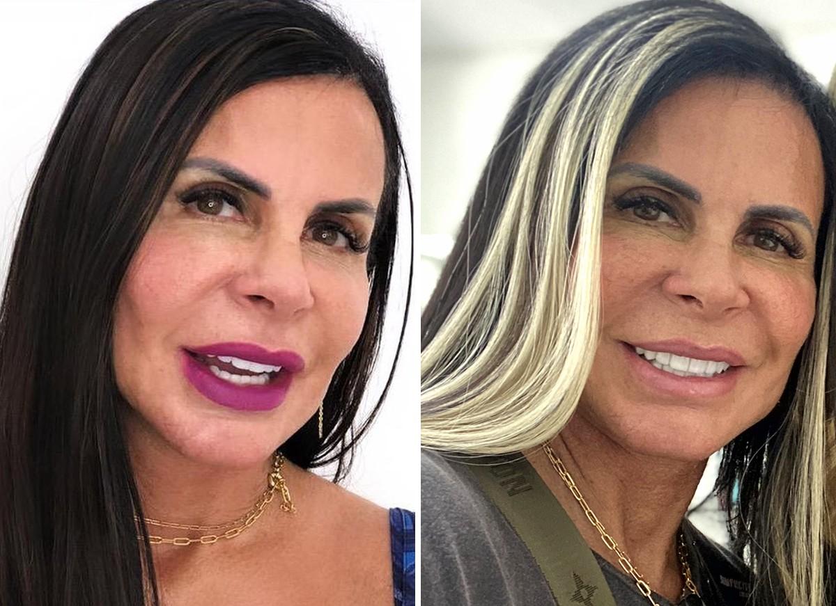 "gretchen - ""Me acostumando"" diz Gretchen após mudar o visual e ficar loira – VEJA FOTO"