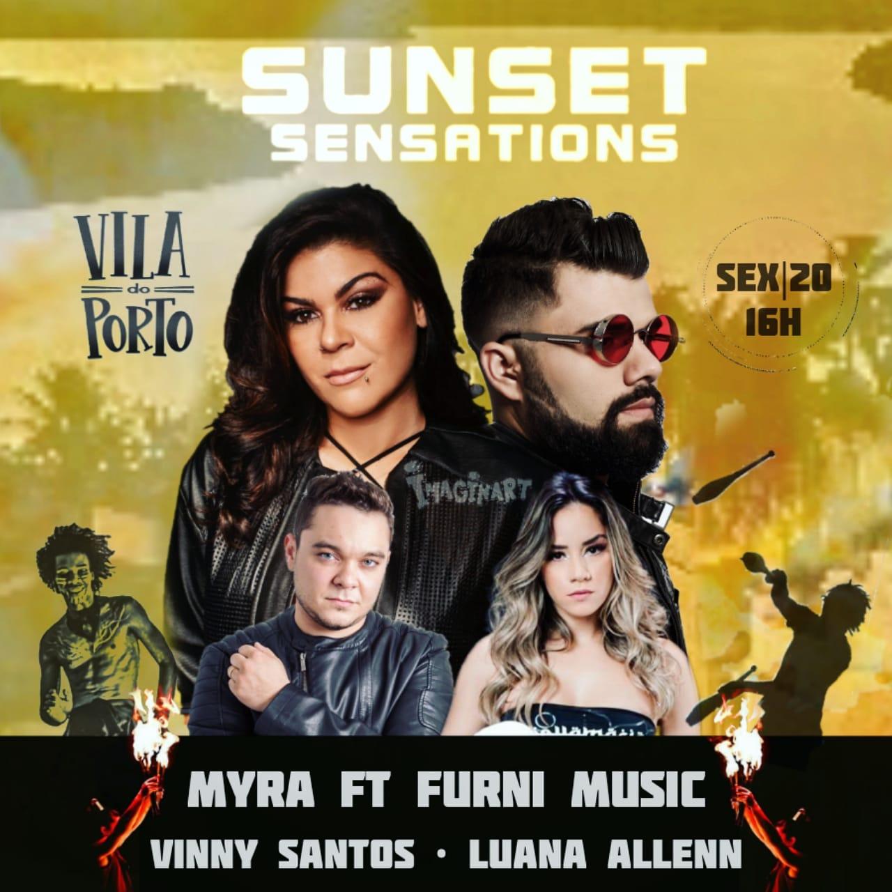 maia - Pôr do sol do Centro Histórico: apresentações de Myra Maya, DJs Furni, Luana e Allenn e Vinny acontecem nesta sexta-feira