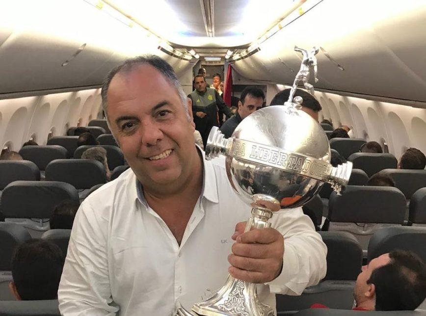 marcos braz flamengo 868x644 1 - Marcos Braz, vice-presidente do Flamengo, é eleito vereador no Rio mas ainda deve continuar no time
