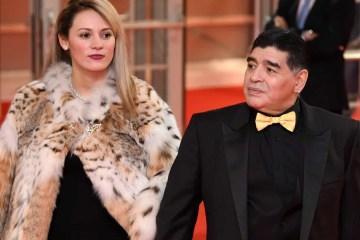 naom 5fbf71cd34044 - Ex-namorada de Diego Maradona, Rocío Oliva, é impedida de participar do velório - VEJA VÍDEO