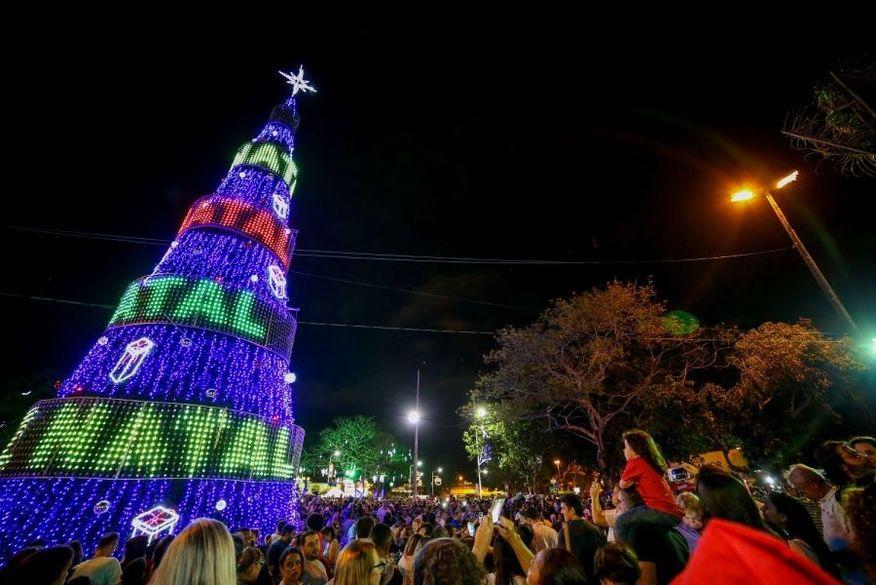 natal iluminado campina grande - Homem é preso suspeito de furtar 'pisca-piscas' e iluminação de Natal em Campina Grande