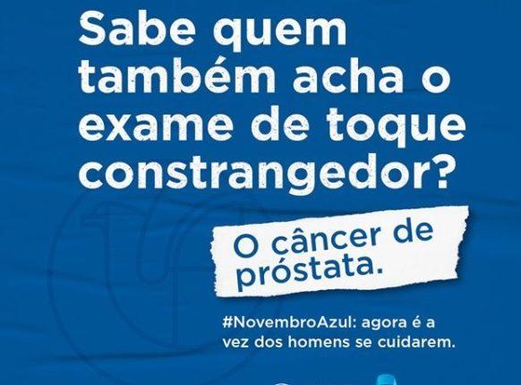novembro azul 1 - NOVEMBRO AZUL: ALPB reforça importância de cuidados preventivos e quebra de tabus