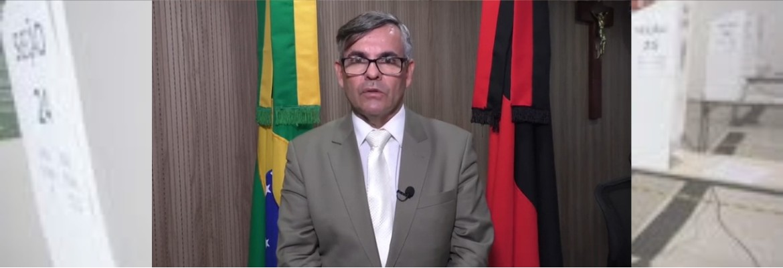 pres tre joas - Em pronunciamento, presidente do TRE-PB convoca eleitorado pessoense para ir às urnas neste domingo (29) - VEJA VÍDEO