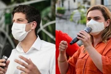 """Ataques ao PT e a Marília fazem eleição do Recife ter """"climão"""" na esquerda"""