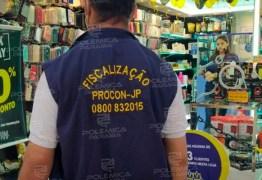 OPERAÇÃO BLACK FRIDAY: Procon-JP fiscaliza 120 lojas, notifica 7 e autua dois estabelecimentos