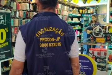 procon jp - OPERAÇÃO BLACK FRIDAY: Procon-JP fiscaliza 120 lojas, notifica 7 e autua dois estabelecimentos