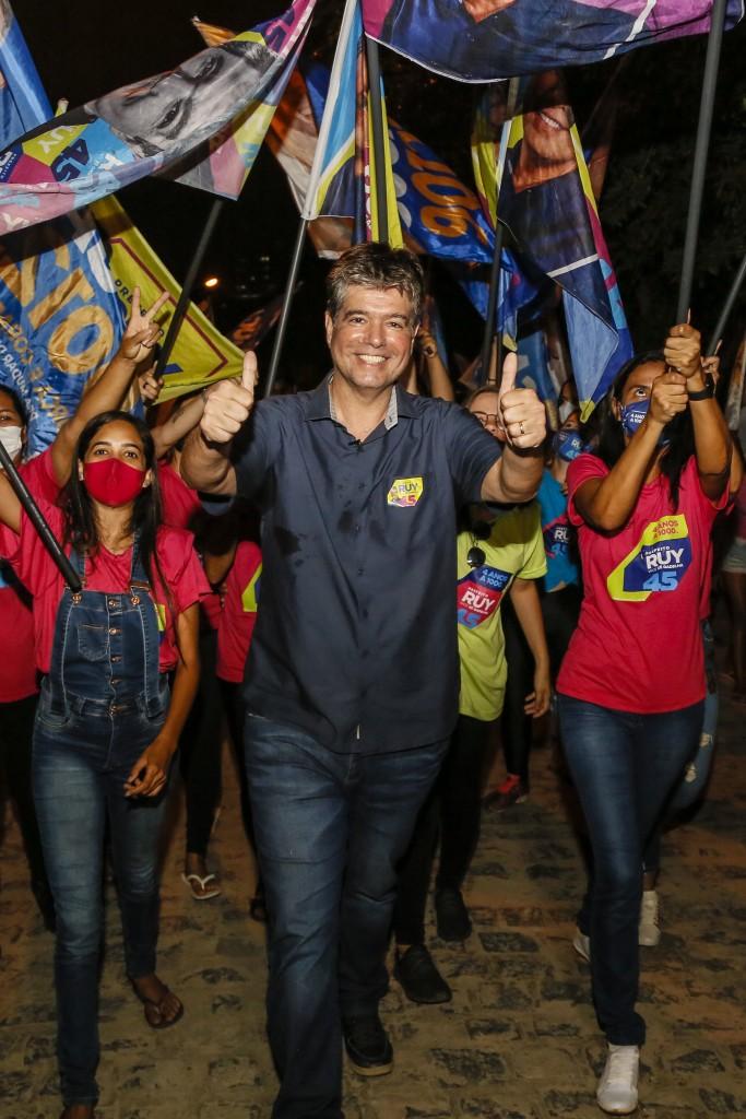 """ruy 1 - Ruy Carneiro se diz grato pela votação: """"Sigo em frente dedicado à saúde e aos projetos de interesse de todos"""""""
