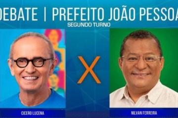 segundo turno debate - 2° Turno: Tv Master realiza hoje debate com Cícero Lucena e Nilvan Ferreira