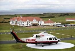 DE LUXO: Donald Trump coloca helicóptero à venda