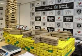 Mulher é presa suspeita de tentar enterrar meia tonelada de drogas em Santa Rita, na PB