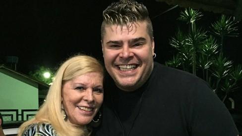 vanusa - Filho de Vanusa desabafa após morte da cantora: 'pior dia da minha vida'; VEJA VÍDEO