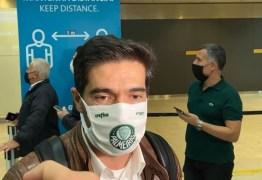 Abel Ferreira chega ao Brasil para assumir o comando do Palmeiras