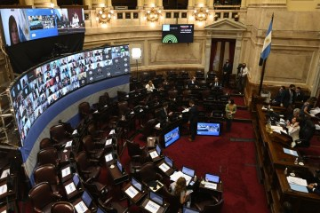 000 8wh2dc - US$ 3 BILHÕES: Congresso argentino aprova imposto sobre grandes fortunas