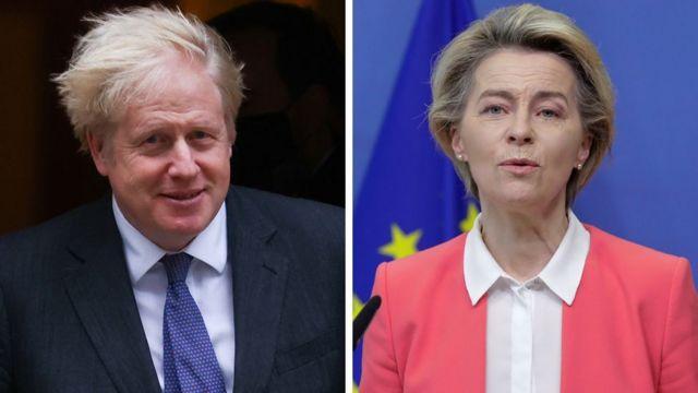 116240435 55438828 - Reino Unido e União Europeia fecham acordo comercial histórico para o pós-Brexit