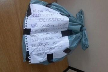 Ladrão se arrepende e devolve sacola com mechas de cabelo após descobrir que era para crianças com câncer