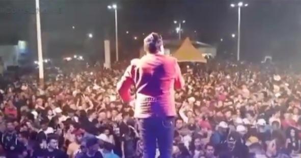 Cavaleiros do Forró Polêmica - 'CORONAFEST': MP denuncia prefeito de São João do Tigre por 'show da vitória' em meio à pandemia