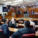 Foto plenário da Cãmara - CMJP aprova PL que suspende prazos de validade dos concursos públicos na Capital