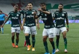 Palmeiras tem a 2ª melhor campanha de um semifinalista na Libertadores