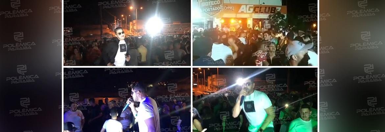 WhatsApp Image 2020 12 24 at 13.42.49 - IRRESPONSABILIDADE E FALTA DE FISCALIZAÇÃO! Show durante a pandemia tem aglomeração e público sem máscara em Uiraúna - VEJA VÍDEO