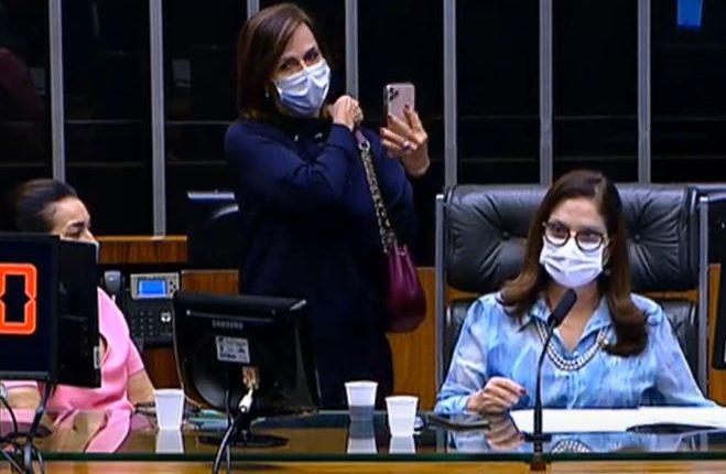 ao vivo 1 659x430 1 - Deputados aprovam repasse extra a ministérios, durante sessão do Congresso