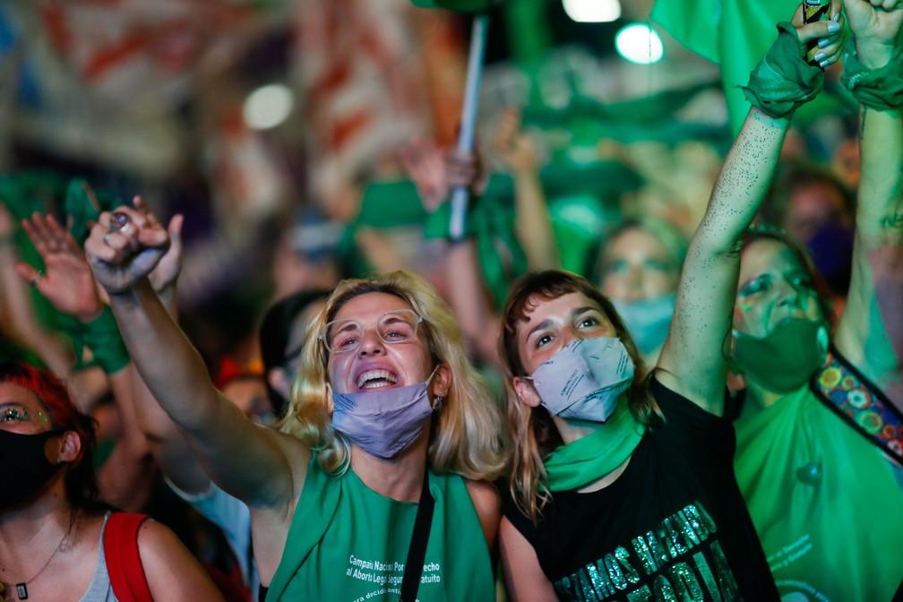 argetinas - Senado da Argentina aprova legalização do aborto no país