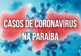 NAS ÚLTIMAS 24H: Paraíba confirma 219 novos casos de Covid-19 e 6 óbitos
