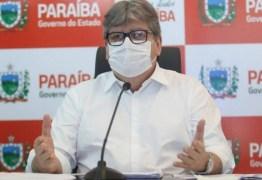 João Azevêdo comemora decisão do STF a favor da vacinação obrigatória