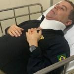 joão almeida - Candidato à prefeitura de João Pessoa, João Almeida sofre acidente de trabalho
