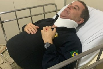 Candidato à prefeitura de João Pessoa, João Almeida bate a cabeça em acidente de trabalho