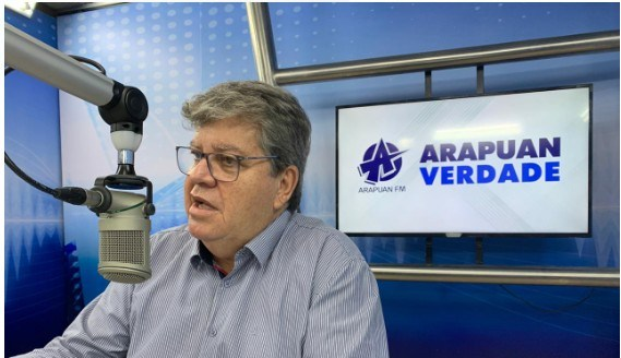 joao 1 - João Azêvedo diz que a PB já tem um plano montado para atender qualquer vacina, e que o momento não é de discutir política