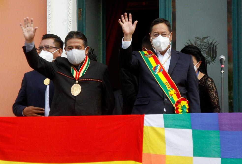 luís arce - DISTRIBUIÇÃO DE RENDA: presidente da Bolívia cria imposto para taxar as 152 pessoas mais ricas do país