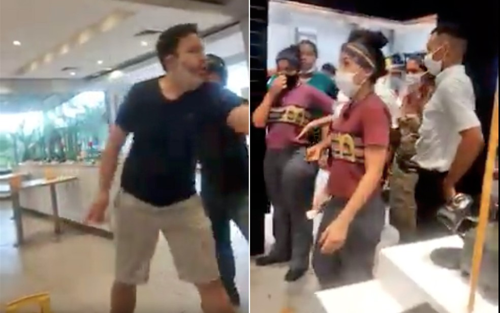 mcdonalds ribeirao preto - Cliente surta e xinga funcionários por causa de ketchup em lanchonete – VEJA VÍDEO