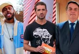 Globo apaga crítica de apresentador a Neymar e Bolsonaro no streaming