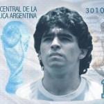 nota maradona - Campanha para criar nota de 10 mil pesos com rosto de Maradona é criada por agentinos