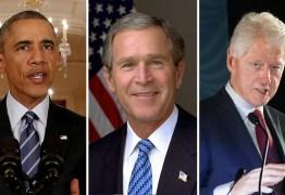 Obama, Bush e Clinton se oferecem para tomar vacina da Covid-19 diante das câmeras nos EUA