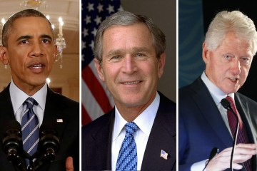 obama bush clinton3 vale - Obama, Bush e Clinton se oferecem para promover vacinação nos EUA
