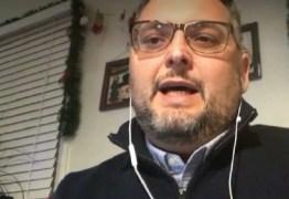 'ESTOU ÓTIMO': paraibano naturalizado nos EUA é vacinado contra a Covid-19 e relata experiência