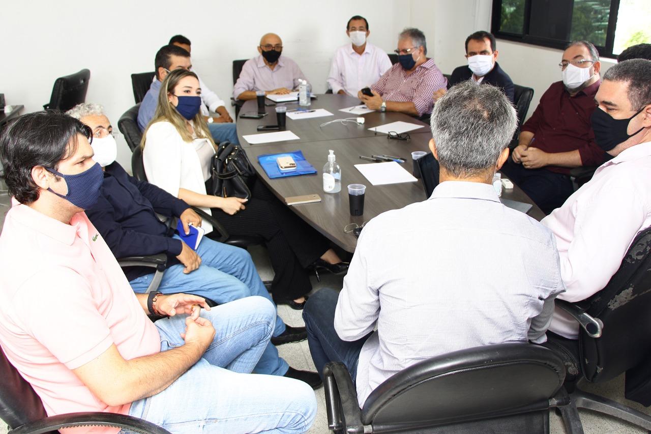 reuniao equipes - Comissões de transição de Cícero e Luciano se reúnem e definem metodologia de trabalho