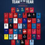 """time do ano - """"TIME DO ANO"""": UEFA inicia votação popular e quatro brasileiros são indicados"""