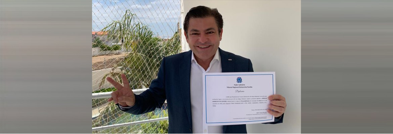 zenildo vice sousa - Diplomado, vice-prefeito reeleito Zenildo Oliveira diz que compromisso dele e de Tyrone é fazer com que Sousa avance ainda mais